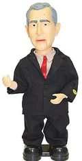 George bush doll