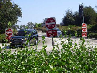 Unclear signage - LA