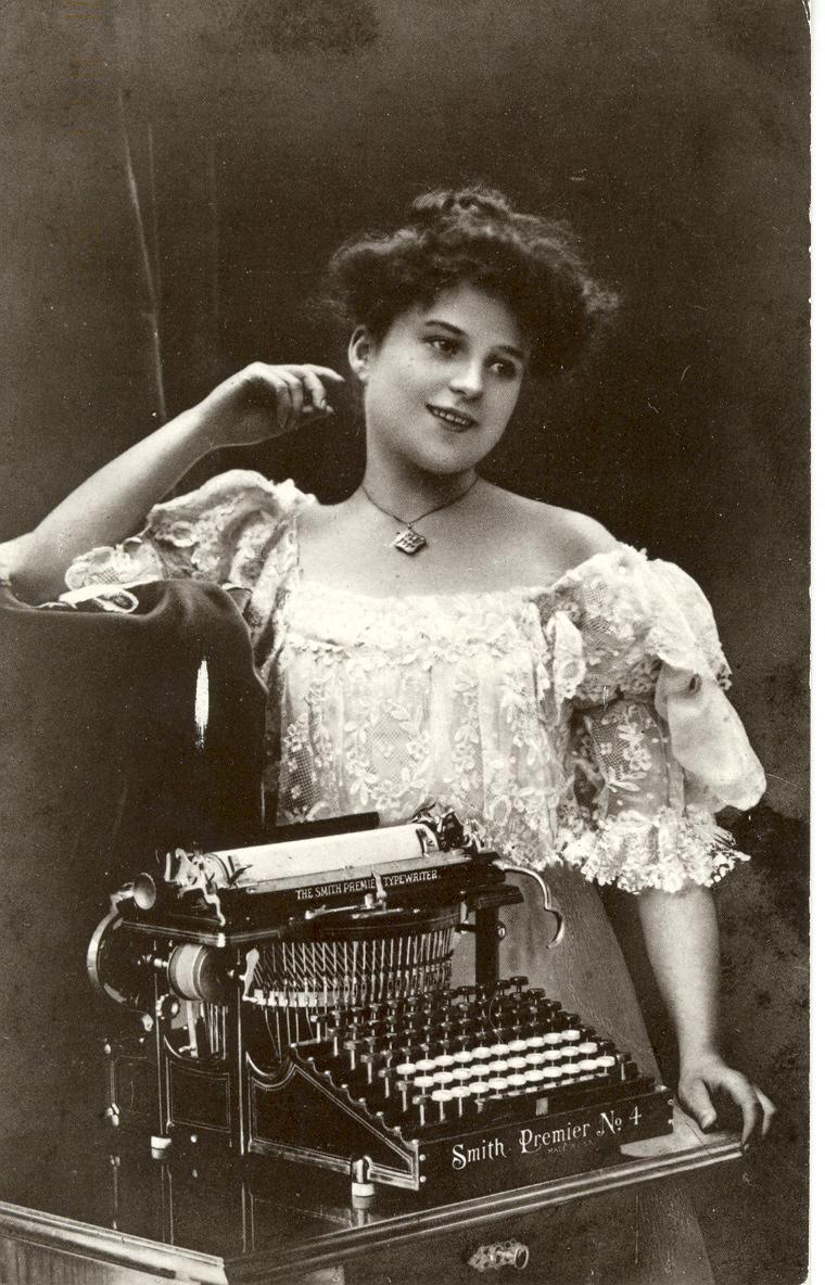 Type-writer Girl